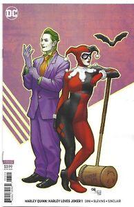 Harley-Loves-Joker-1-Frank-Cho-Variant-DC-Comic-1st-Print-2018-unread-NM