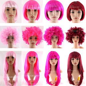 BOB-Medium-Long-Afro-Wig-Doll-Costume-Party-Halloween-Funny-Clown-70s-80s-Disco