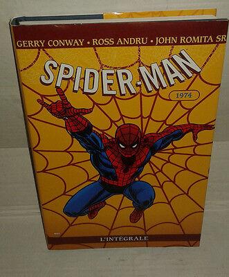 Bd Spider Man Spiderman L Integrale 1974 Marvel Panini Comics Figurine Games Ebay