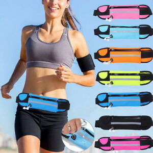 b4f376975183 Details about Unisex Running Bum Bag Travel Handy Hiking Sport Pack Waist  Belt Zip Pouch