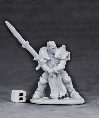 Reaper Bones 77553 Crusader Ardent Hammer