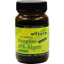 ALLCURA  AFA ALGEN Blaugrün 250 mg Tabletten     120 st       PZN 744456