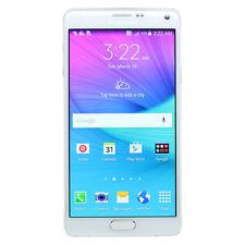 Samsung Galaxy Note 4 IV N910V World Smartphone Verizon + GSM UNLOCKED White