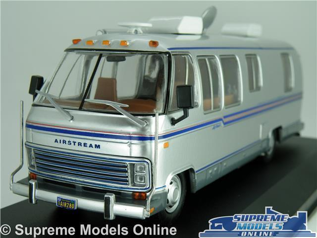 AIRSTREAM EXCELLA MODEL CAMPER VAN 1 43 SCALE IXO 1981 MOTORHOME CAMPERVAN K8