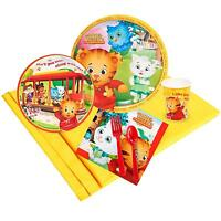 Daniel Tiger's Neighborhood Birthday Party Supply Kit For 8 W/ Table Ware