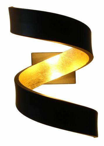 Feuille Led Spirale 6 En D'or Murale Applique Couleurs Light Eco pqSzGMVU