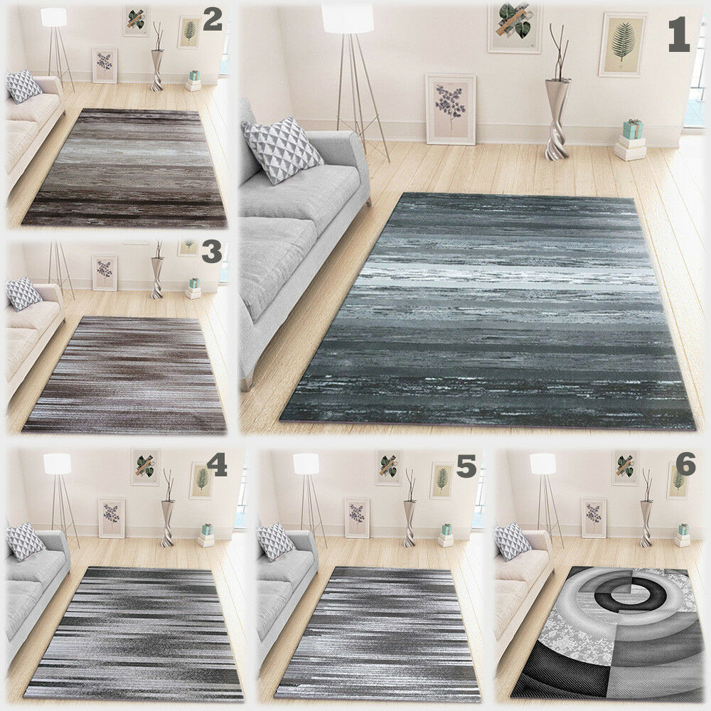 Contemporary Rug Small Bedroom Large Floor Carpet Woven Low pÃle Mats New Modern