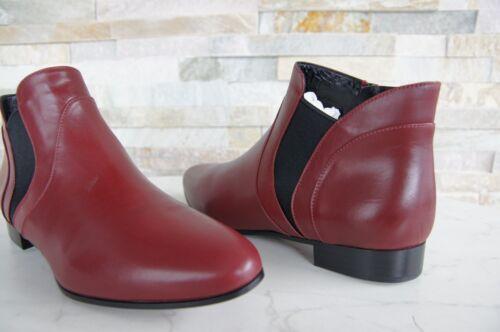 5t9336 De Antiguo Botines Gr Zapatos 38 Rojo Miu Tobillo Nuevo qzYCtCw