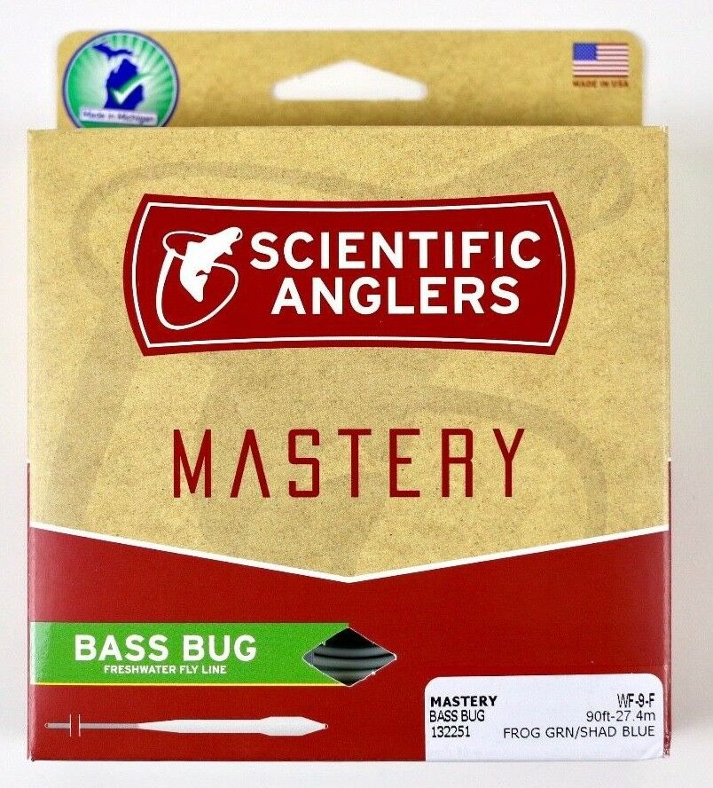 Scientific Anglers Mastery Bass Bug Fly Line WF9F Free Fast Shipping 132251