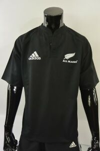 1d4a537759f adidas New Zealand All Blacks Rugby Union Shirt World Cup Jersey ...