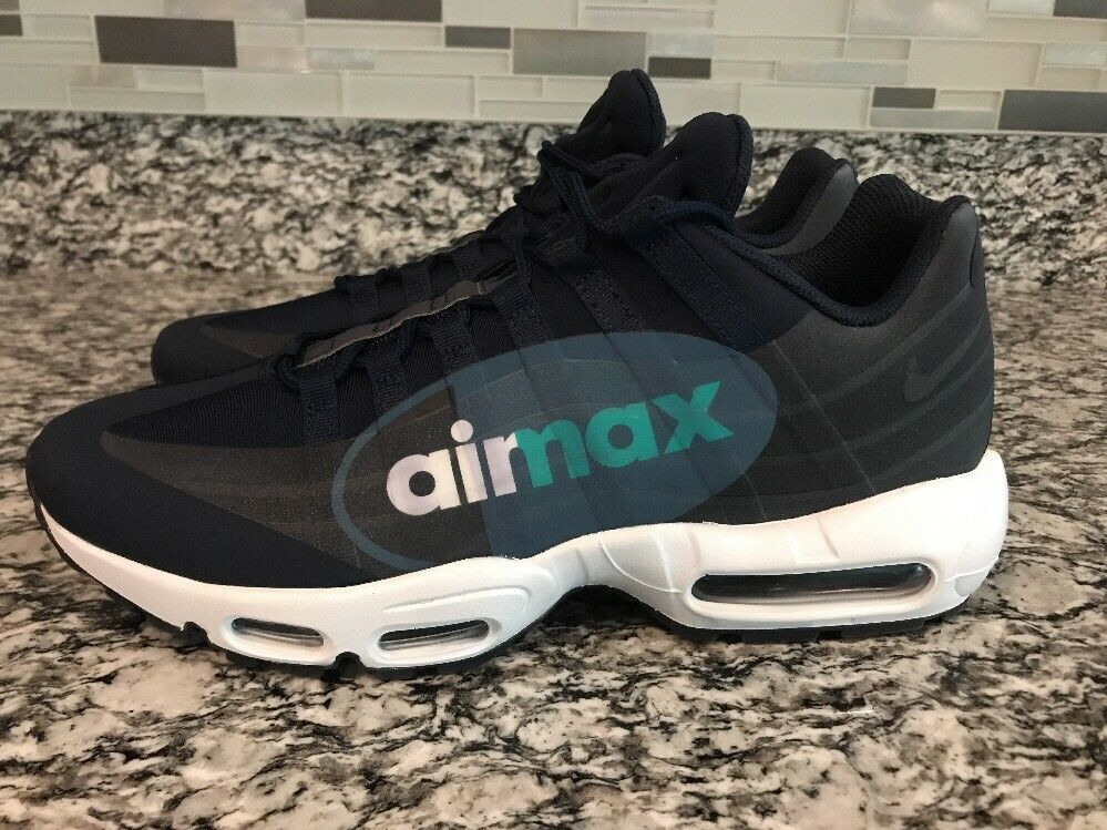 Men's Nike Air Max 95 Sz 10.5 NS GPX SP shoes Obsidian Sneakers AJ7183 400