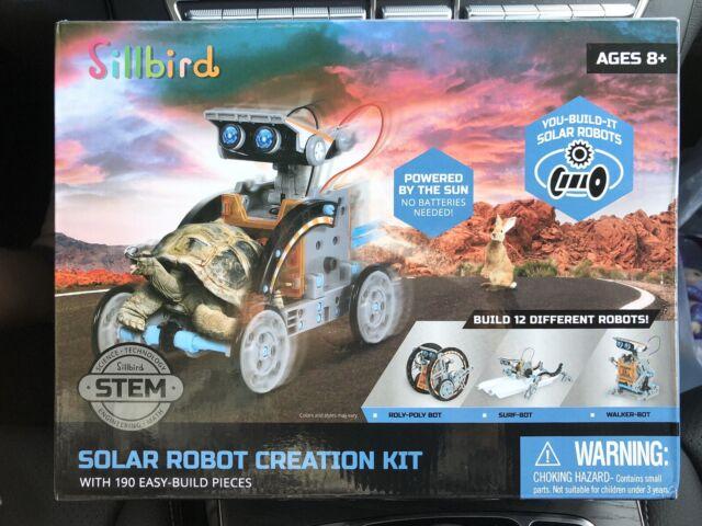 New Sillbird STEM 12-in-1 Education Solar Robots Creation ...