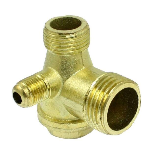 Rosca macho de laton compresor de aire valvula de retencion de piezas de re P7A3