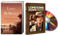 Lonesome Dove (pb) & Lonesome Dove The Series - Season 1 (dvd)