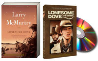 Lonesome Dove (pb) & Lonesome Dove The Series - Season 1 (dvd)