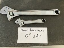 Snap On Adjustable Wrench 2pc