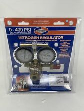 Nitrogen Regulator 0 To 400 Psi Delivery Made In Usa Uniweld Rhp400