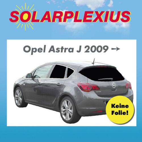 AUTO protezione solare sheiben-tonalità PARASOLE OPEL ASTRA J 5-Porte Bj 09-15