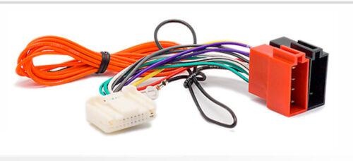 subaru impreza Opel Movano Carav 12-136 autoradio cable del adaptador ISO para nissan
