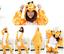 Unisex Kids Adults Animal Kigurumi Pajamas Cosplay Sleepwear Costumes Jumpsuit1