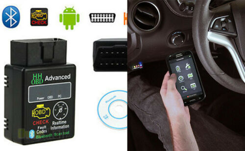 HH ELM327 V2.1 OBD2 Auto Bluetooth scanner per interfaccia diagnostica Bluetooth