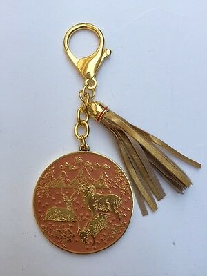 2015 FENG SHUI ANNUAL SPRING AMULET TAILSMAN KEYCHAIN FOR BOUNTIFUL HARVESTS