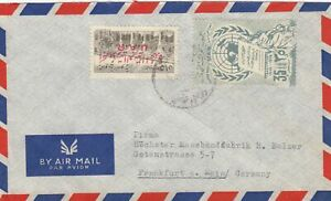 Letter-Air-Mail-Alep-to-Frankfurt