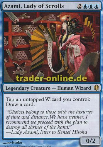 Lady of Scrolls Azami, Herrin der Spruchrollen Azami Commander 2013 Magic