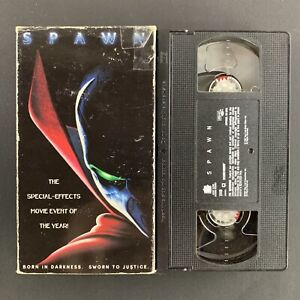 Spawn-1997-VHS-Tape-Tested-Plays-Great