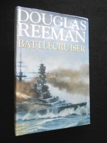 1 of 1 - Battlecruiser by Douglas Reeman (Hardback, 1997-1st) WWII Naval/Military Novel