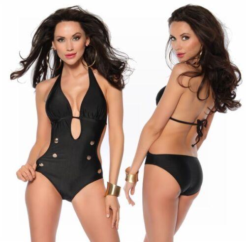 SameGame Marine Monokini Con Allacciatura Al Collo Bikini Costume