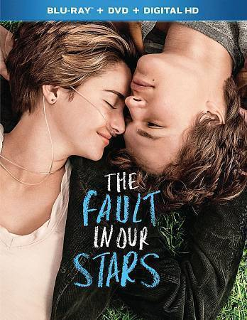 The Fault In Our Stars Blu-ray Disc, 2014, 2-Disc Set  - $0.99