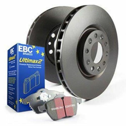 "10.5/"" Rotor EBC Brakes S1KR1227 Street Rear Ultimax Brake Pad and RK Rotor Kit"