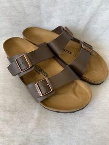 orientalisk sponsor Utnämna  Mens Birkenstock Sandals Arizona Dark Brown Size 46 Regular Fit | eBay