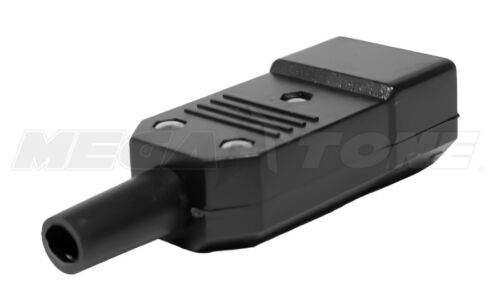 IEC320 C14 Male Power Inlet Plug Connector 10A//250VAC USA SELLER!