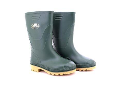 Unisex StormWells W092 Buget Junior Garden Wellingtons Boots