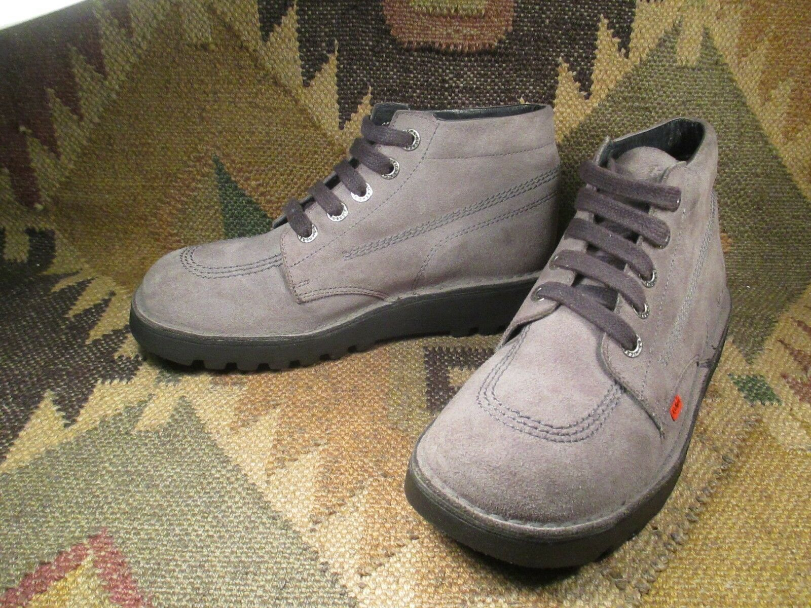 KicKers Grau Suede CHUKKA in ANKLE BOOT Größe 40 made in CHUKKA France e7fdf0
