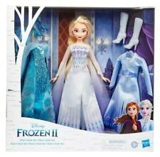 Disney FROZEN 2: Elsa's Style Set Exclusive w Snow Queen Outfit NIB/Sealed
