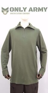 French-Army-Norgie-Top-Thermal-Half-Zip-Norwegian-Top-Cold-Weather-Shirt-Norgi