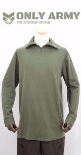 French Army Norgie Top Thermal Half Zip Norwegian Top Cold Weather Shirt Norgi