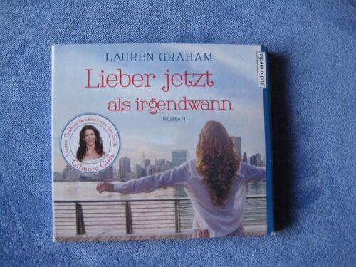 1 von 1 - ***Lieber jetzt als irgendwann*** Roman v. Lauren Graham  5 Audio-CDs  NEUwertig