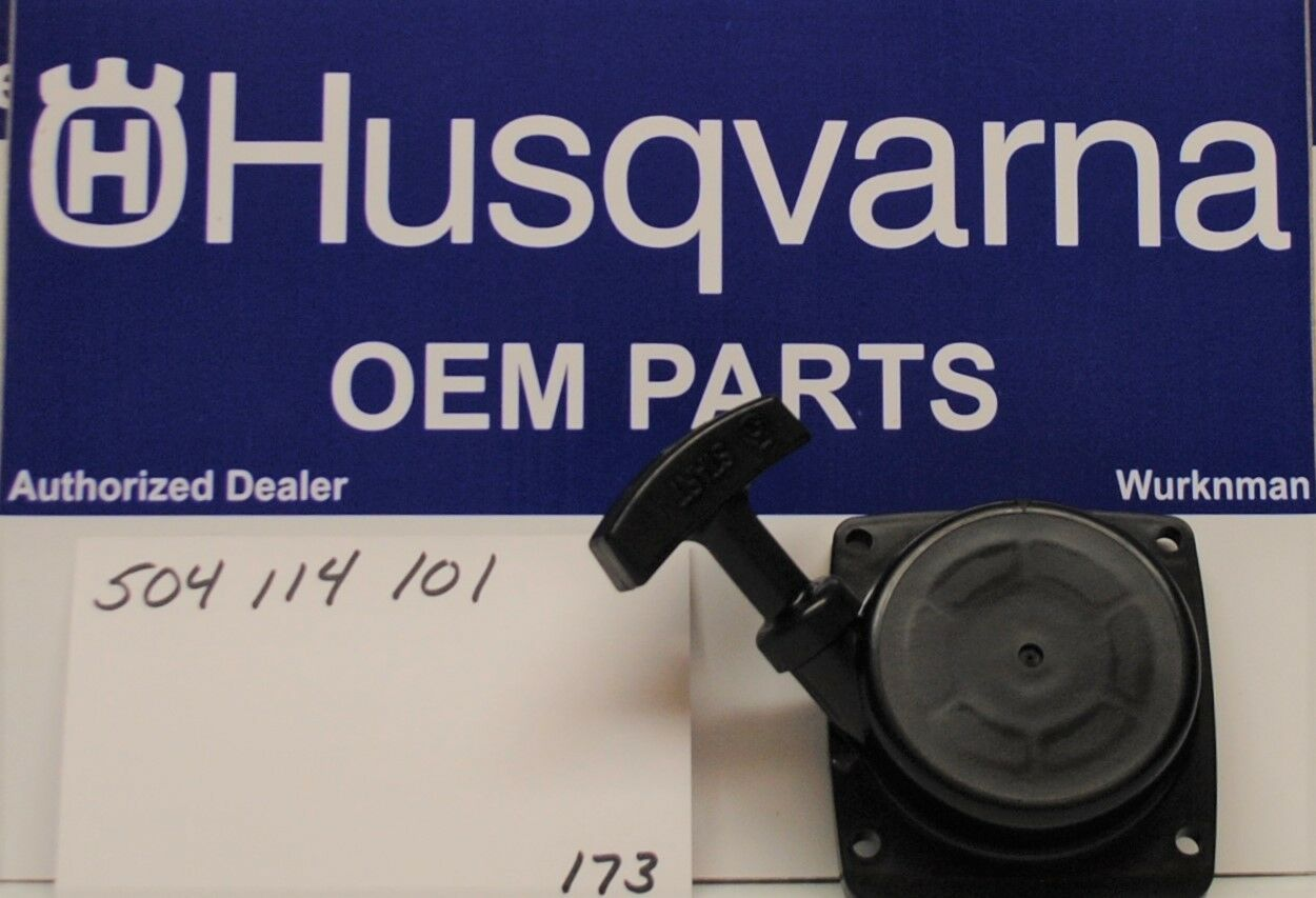 Genuine Husqvarna OEM comenzar Asamblea retroceso 504114101 se ajusta 130BT
