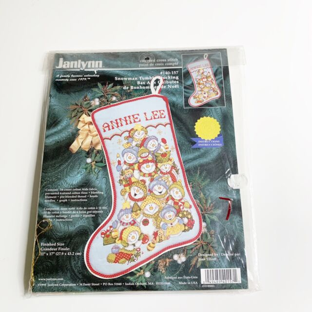 "Sweet Dreams/"" Unopened Counted Cross Stitch Kit Janlynn /""Baby Assortment NEW"