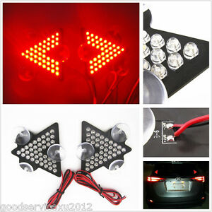Arrow Type 39led Car Interior Windshield Brake Signal Lamp