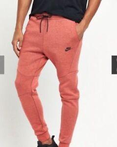Seguimiento Rojo Fleece Para Chándal Nike Pantalones Hombre Tech 7qTg8