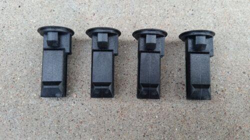 Thule black plastic lock plugs 8531671 400 400xt 415 416 417 418 foot packs