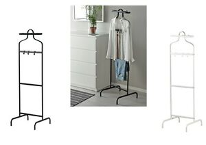 Ikea White Mulig Valet Clothes Rail Display Rack