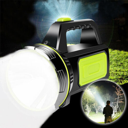 135000LM LED Power Work Light Torch Candle Spotlight Hand Lamp USB Rechargeable//