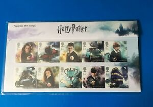 Harry-Potter-Presentation-Pack-By-Royal-Mail-Mint-Stamps-BNIP-2018