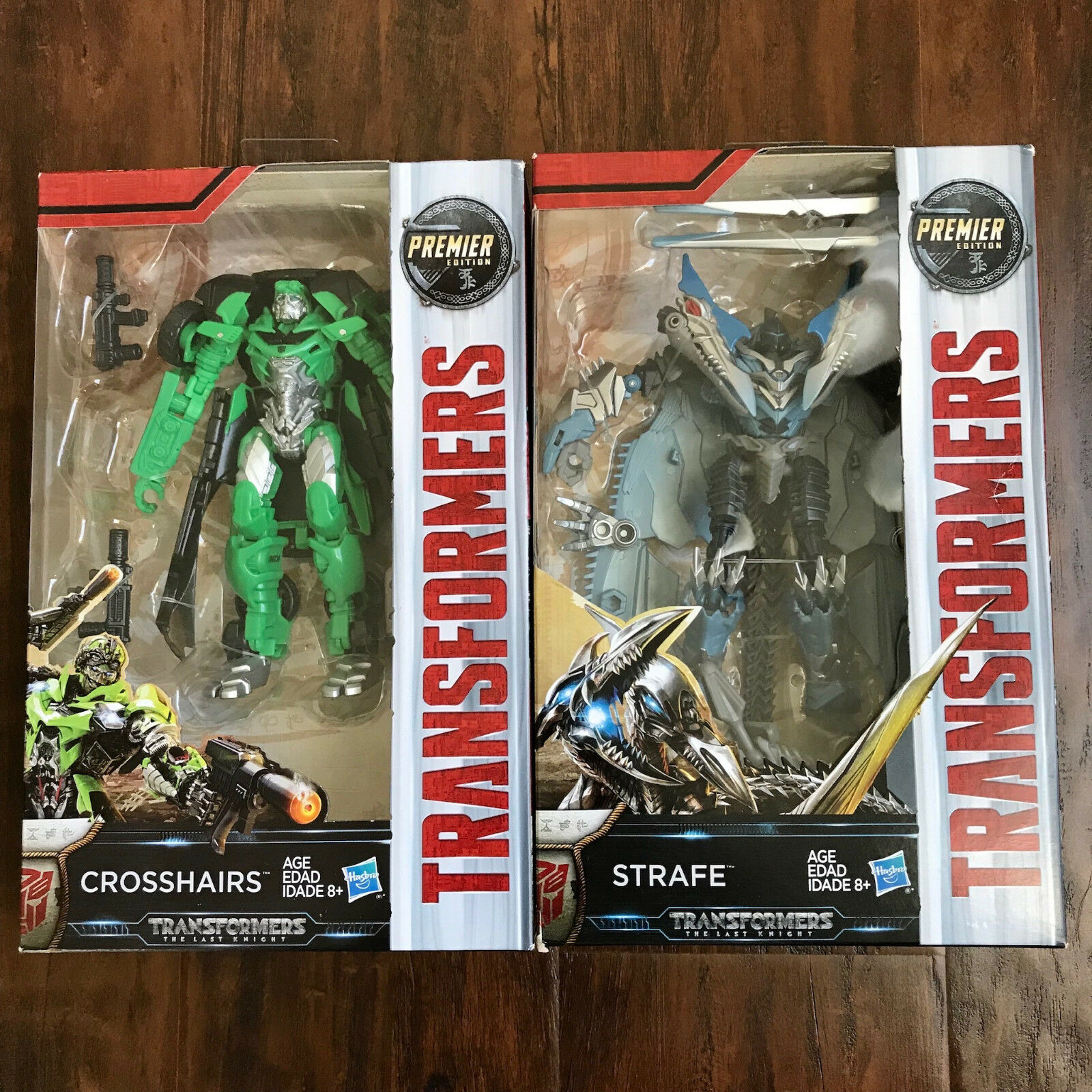NEW Transformers The Last Knight PREMIER EDITION - Crosshairs & Strafe LOTS OF 2
